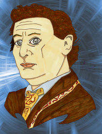 Sylvester McCoy Portrait by Antony McGarry-Thickitt