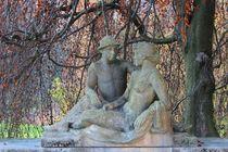 Skulptur 'Liebende'  von visual-artnet