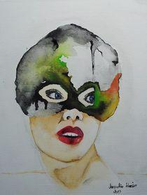 masc on canvas  von Jacqueline Schreiber