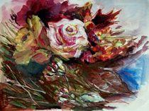 Späte Rosen by Ellen Fasthuber-Huemer