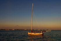 Sailboat at Dusk, Nassau, Bahamas by Shane Pinder