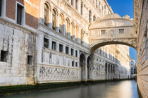 The famous Bridge of Sighs in Venice by Michael Abid