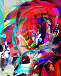Abstract Graphic Of  Colors by Boi K' BOI