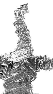 Frau mit langem Hals by Reiner Poser