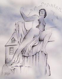Prometheus in Schloss Dhaun von Theodor Fischer