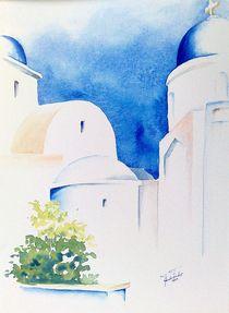 Santorin by Theodor Fischer