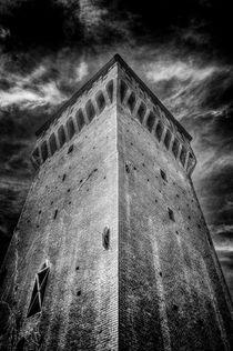 Castle in San Felice sul Panaro by Traven Milovich