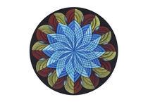 Sacred Mandala Card by themandalalady
