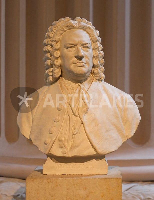 """""""Johann Sebastian Bach"""" Fotografie als Poster und ..."""