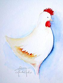 Huhn von Theodor Fischer