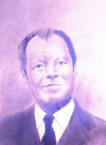Willy Brandt by Theodor Fischer
