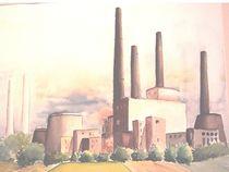 Kraftwerk Fenne von Theodor Fischer