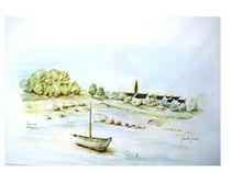 Plouguernot, Bretagne by Theodor Fischer