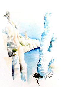 Gorges de Verdon by Theodor Fischer
