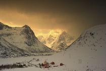 Arctic light in February von Stein Liland