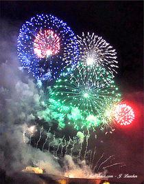 Feuerwerk, Rhein in Flammen von shark24