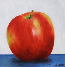USA apple by Ruth Baker