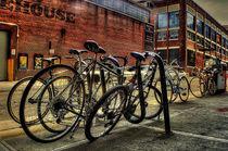 Bikes in DUMBO von Maks Erlikh