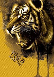 Tiger inside von Michael Petrus