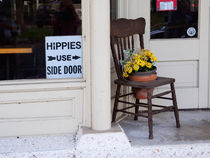 Hippies Use Side Door von Louise Heusinkveld