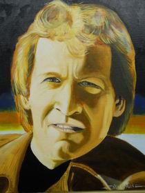 A Self Portrait when younger by Gene Davis