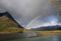 Regenbogen im Sarek Nationalpark, Schweden (02) von Karina Baumgart