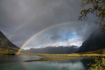 Regenbogen im Sarek Nationalpark, Schweden (01) by Karina Baumgart