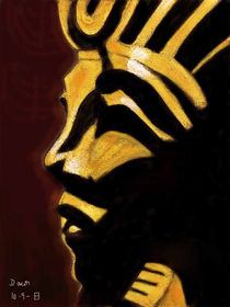 Boy King Tutankhamun von dawn Davies