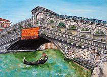 Ponte di Rialto von loredana messina