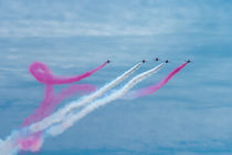 Red Arrows smoking  by Christopher Kelly