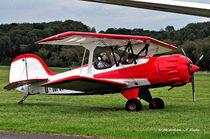Doppeldecker, historisches Flugzeug von shark24