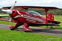 Doppeldecker, Kunstflugmaschine von shark24