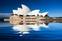 Sydney Opera House reflection von Sheila Smart