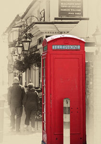 The red telephone box by Sheila Smart