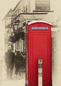 The red telephone box von Sheila Smart