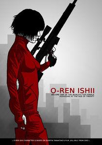 O-Ren Ishii von Michael Petrus