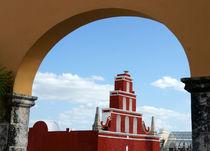 Merida Arch Mexico by John Mitchell