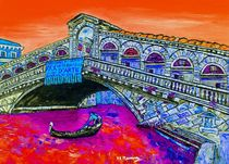 An iconic bridge  by loredana messina