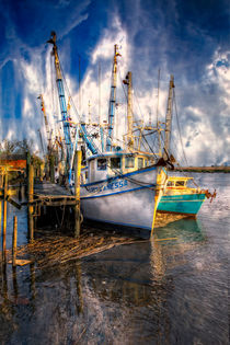 Fishing Boats by Debra and Dave Vanderlaan