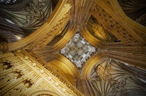 Interior of Canterbury Cathedral by aremak