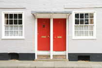Two red doors by aremak