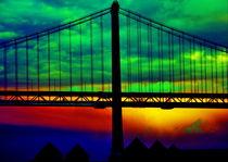 Bay Bridge Abstract by Aidan Moran