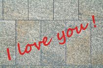 I love you! by Hans Levendig
