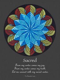 Sacred Mandala Poster by themandalalady