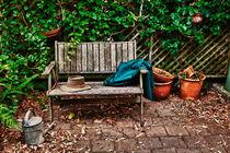 Garden bench von Sheila Smart