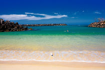 Tropical blue waters von Sheila Smart