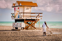 Miami Beach Lifeguard by gfischer
