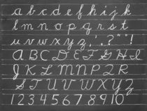 The Cursive Alphabet von aremak
