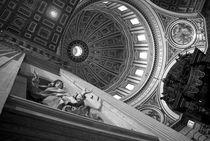 St Peter's Basilica BW von aremak