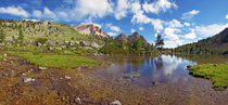Mountain Lake in the Dolomites by aremak